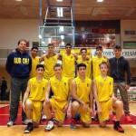 Gli under 17 di coach Benviz versione 2013-14