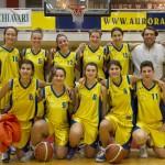Serie C femminile - Da sin. in piedi: