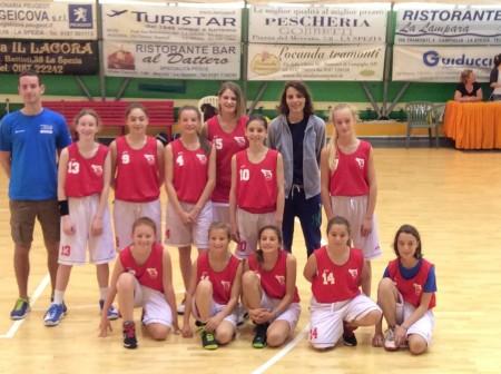 La squadra femminile allenata da Eliana Carbonell (foto per gentile concessione di Roberto spinetto)