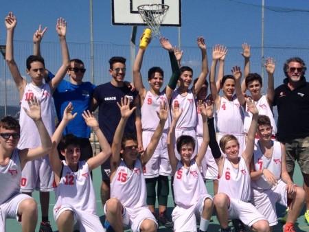 La selezione maschile allenata da Riccardo Gaiaschi, Leo Pieranti e Giacomo Gotelli (foto per gentile concessione di Fabio Crovo)