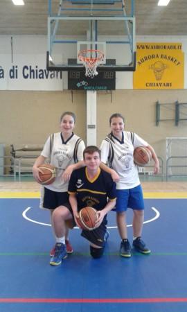 Clara, Giada e Simone: ecco il trio-Aurora.