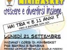 Inizio corsi minibasket Anno 2015-2016